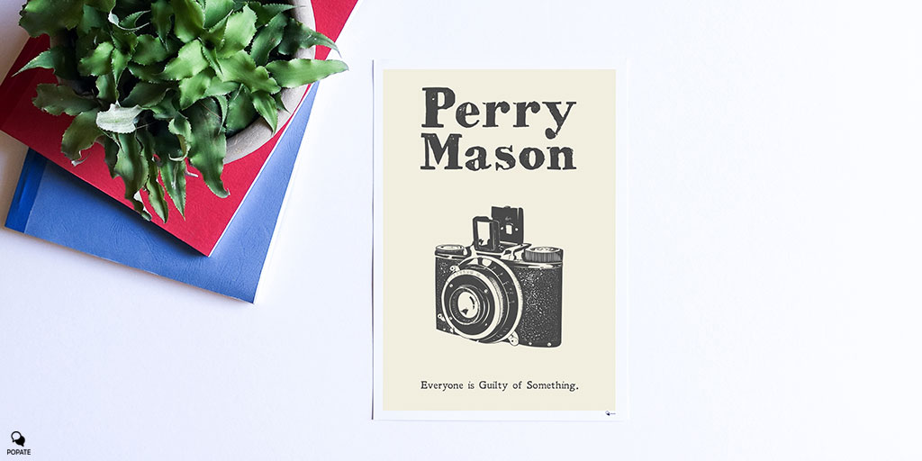 Today's vintage poster is dedicated to #PerryMason. #fanartfriday pic.twitter.com/VRu4eJV4Lq