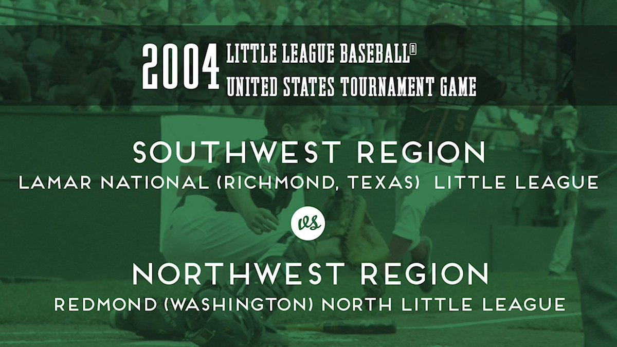 Southwest and Northwest piled up the runs in their meeting at the 2004 #LLWS - but what else would you expect with some future @MLB stars on the field? ltllg.org/URgZ50AqSWc
