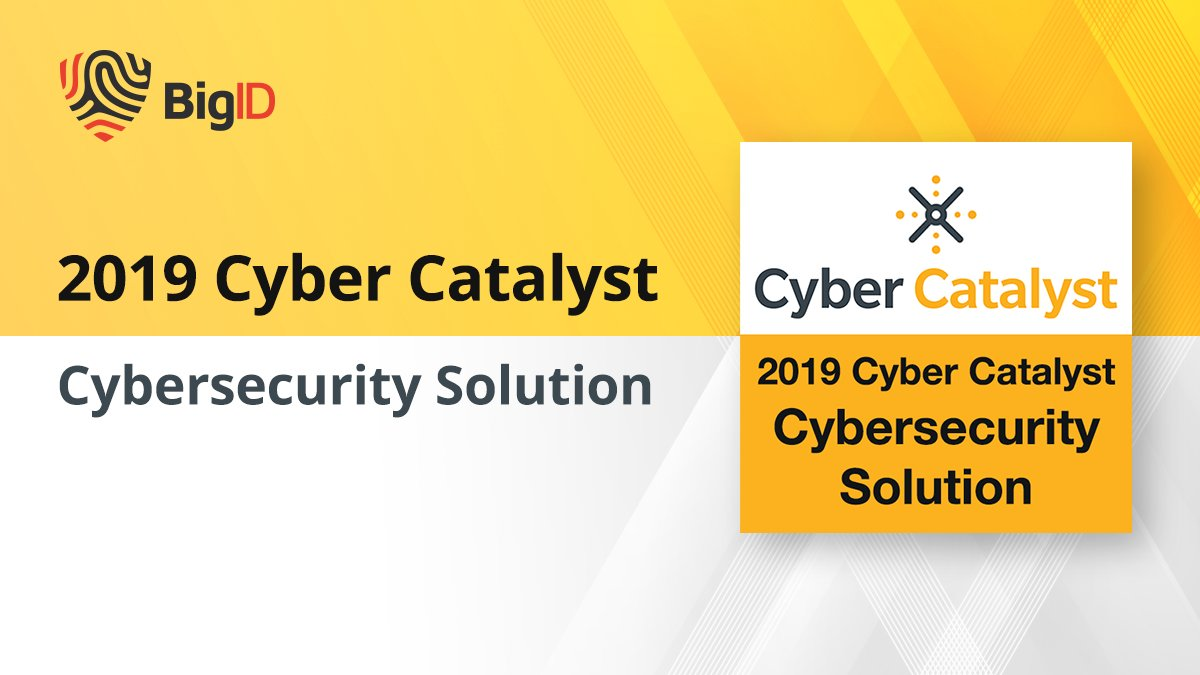 🏆 Our #Privacy Platform Received the Cyber Catalyst Designation from @MarshGlobal. See why #BigID is a top #CyberSecurity solutions. Get a demo >> https://t.co/Kby9B5W2Rr #DataPrivacy #DataGovernance #DataSecurity #DataDriven #BigIDeas https://t.co/J5lSRyZDf6