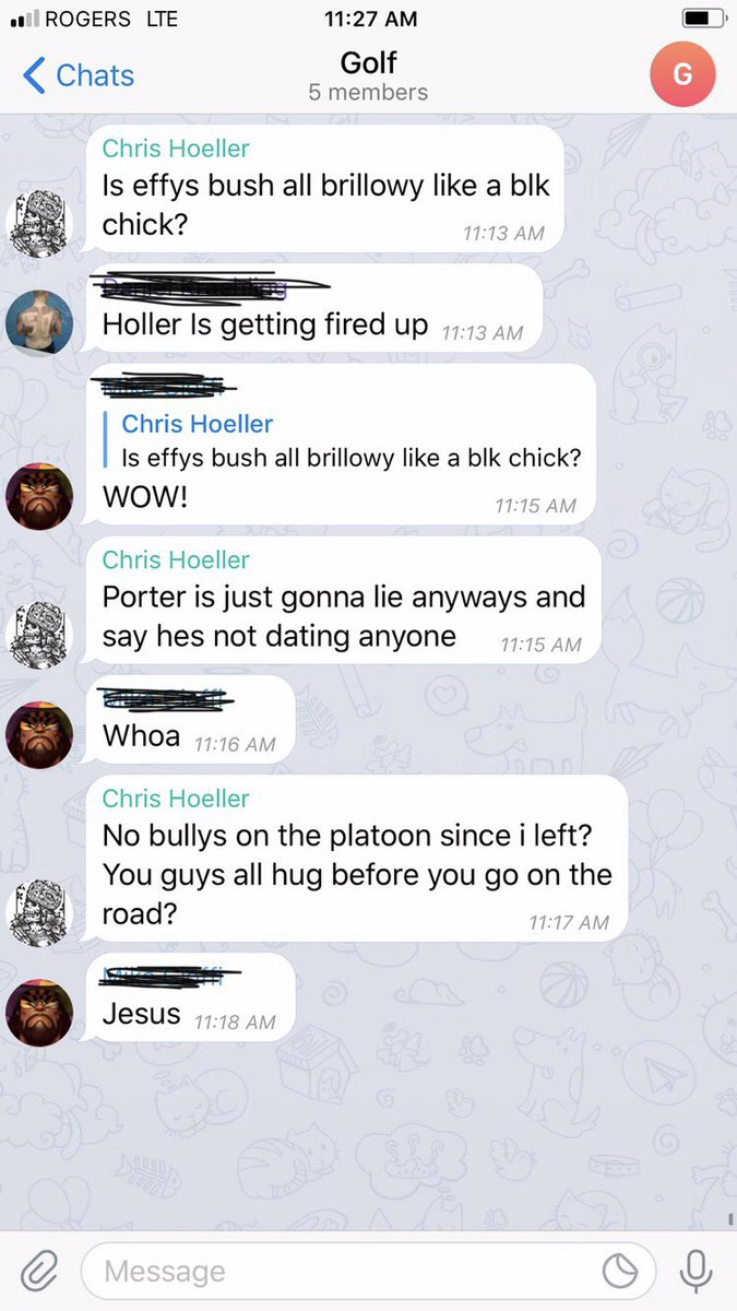 """PC Chris Hoeller from TPS tried to sexually assault me by blocking my exit, demanding if I don't""""fuck him and kotzer""""they would tell everyone at work I did!Hoeller then send a text to my colleagues asking about my Vagina. Nearly 2 yrs after I reported, TPS kept him in sex crimes https://t.co/OkQgAZw1XX"""