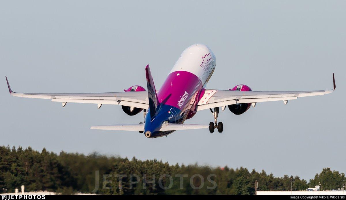 Jetphotos On Twitter A Wizz Air A320neo Departing Gdansk Https T Co Ahkn9gqn2u C Mikolaj Wlodarski