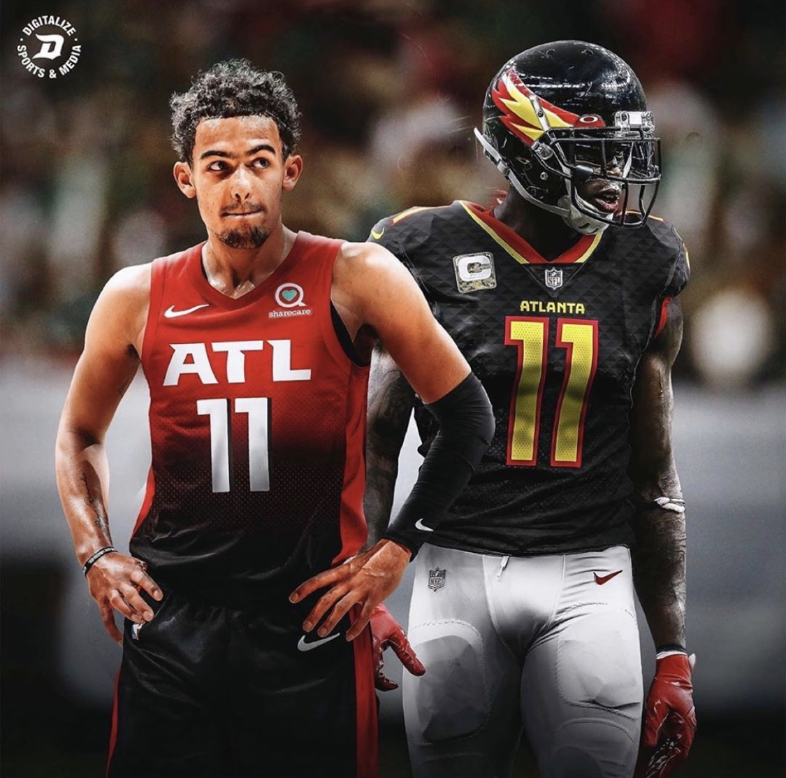 What do y'all think?! 👀👀🔥🔥 (via @EnriqueProdIG/ @SportsCenter)  #TrueToAtlanta x #InBrotherhood https://t.co/BSv57s8qq7