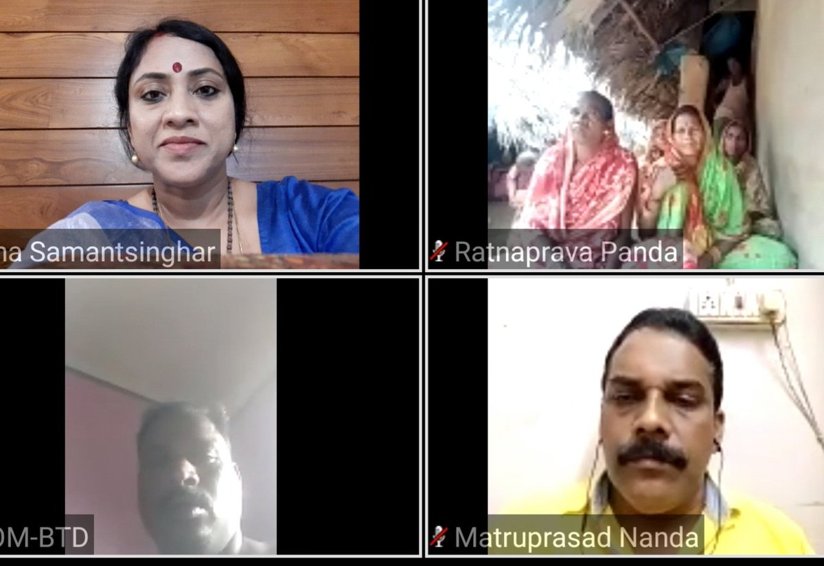 Mahila Jan Samvad virtual rally today of Dhenkanal district observing #1YearofModi2 remembering the achievements of #ModiSarkar with all our beloved sisters. https://t.co/6pw7nYz2xY