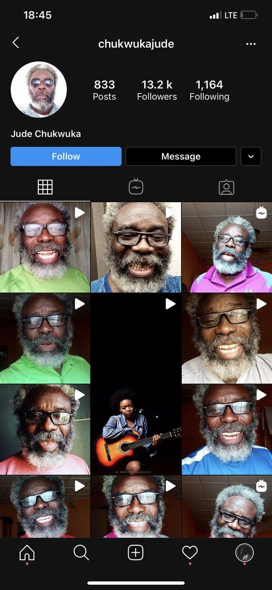 I just found out ElderlyMarlian guys.. Igbo name but he speaks perfect Yoruba.wooooow. Sending his 1m now<br>http://pic.twitter.com/hTxHKzis0I