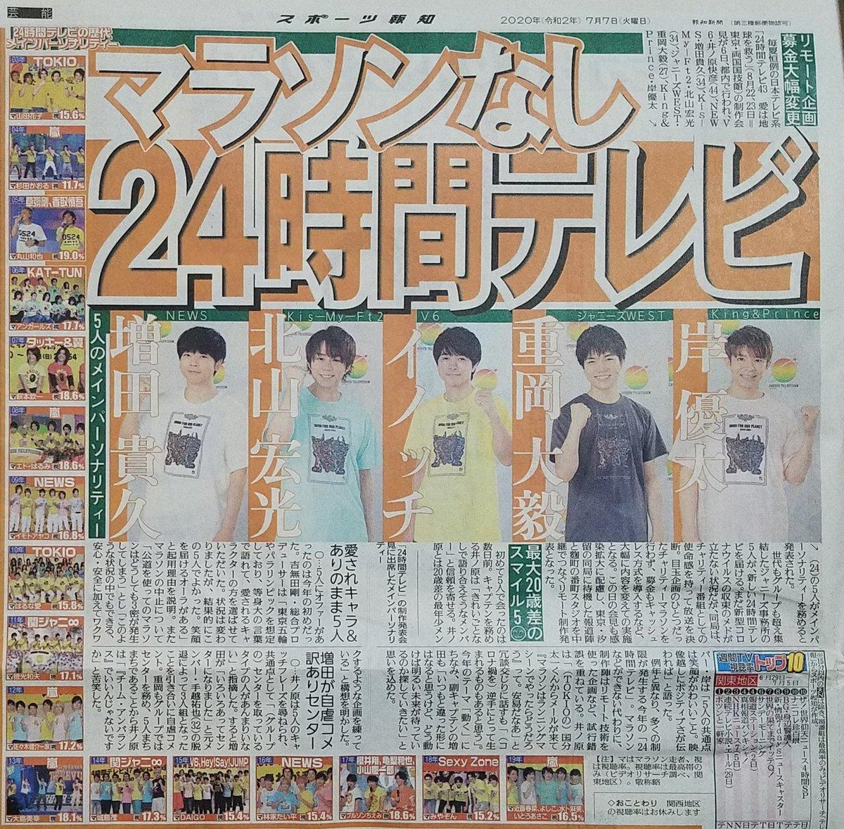 大 重岡 24 テレビ 毅 時間