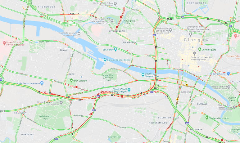 test Twitter Media - ❗️NEW⌚️17:30  #M8 eastbound - slow traffic junction 23 to J19  Peak traffic seems to be on the rise - #ExpectDelays  @ScotTranserv https://t.co/1JxYjdT6T5