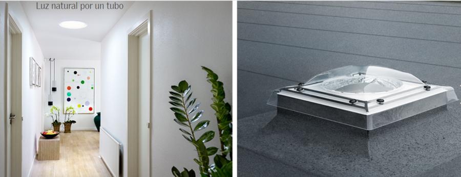 ¿Te gustaría tener #luznatural en #habitaciones oscuras?Los #TubosSolares #Velux trasportan la luz natural del exterior a las zonas oscuras de la casa, como #baños, #pasillos, #escaleras o #vestidores , donde no es posible instalar una #ventanadetejado https://t.co/2fxij7HMSx https://t.co/rZBr7tbA3P
