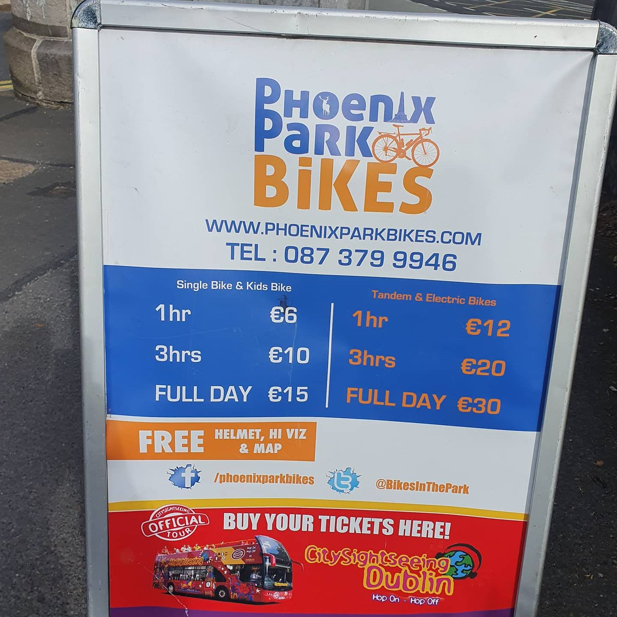 test Twitter Media - We are open for business 10am to 6pm 7 days a week #bikehire #dublin #bikes #phoenixpark #covid19 https://t.co/2X1jhWxg7R