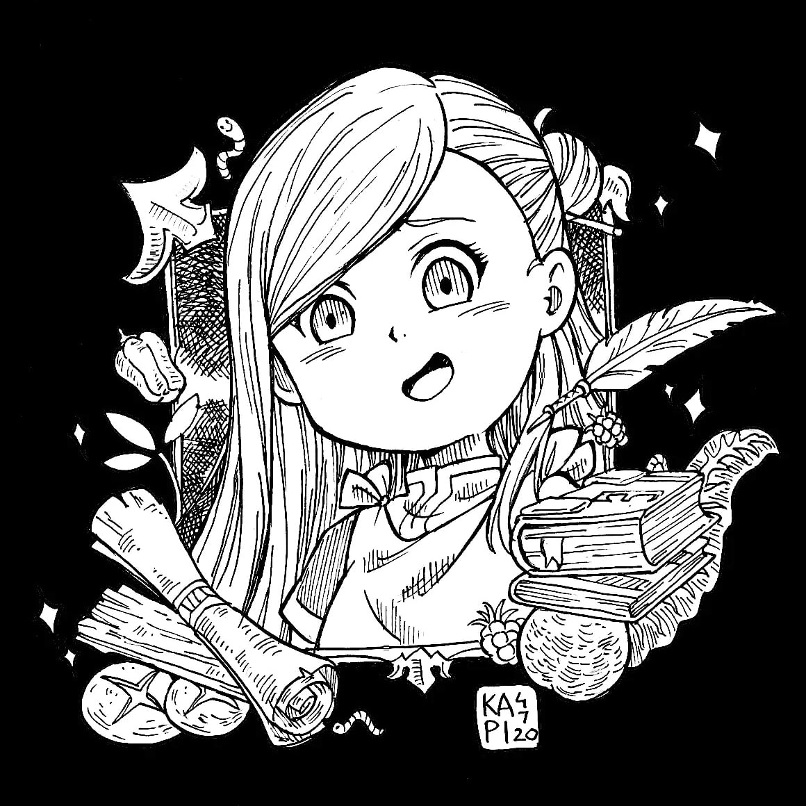 """""""If there's a way to make her cuter, it's wrong not to do it! Cuteness is justice!""""  Ascendence of a bookworm is a warm isekai style anime that lugs ur heart and at the same time warms it!! Season2 is out so give it a try!! #Mangapic.twitter.com/XVVtq5rIG3"""