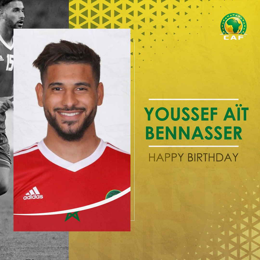 🇲🇦 Happy Birthday to Moroccan international midfielder Youssef Aït Bennasser! 🎊 Have a great one! 😁