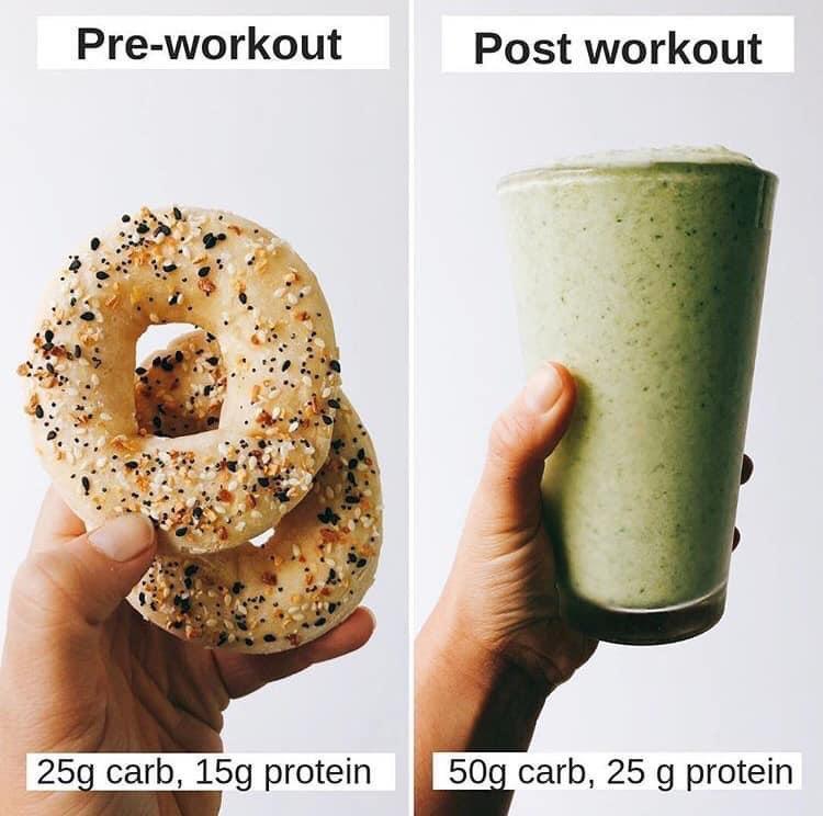 """✅Lo que comes antes y después de tus entrenamientos puede potenciar o sabotear tu esfuerzo; planeación es la clave, si comes """"lo que sea"""" o """"lo que encuentres"""" no funcionará 💥La alimentación es fundamental para ver resultados #fitness #nutrición https://t.co/H1QysqmMkx"""