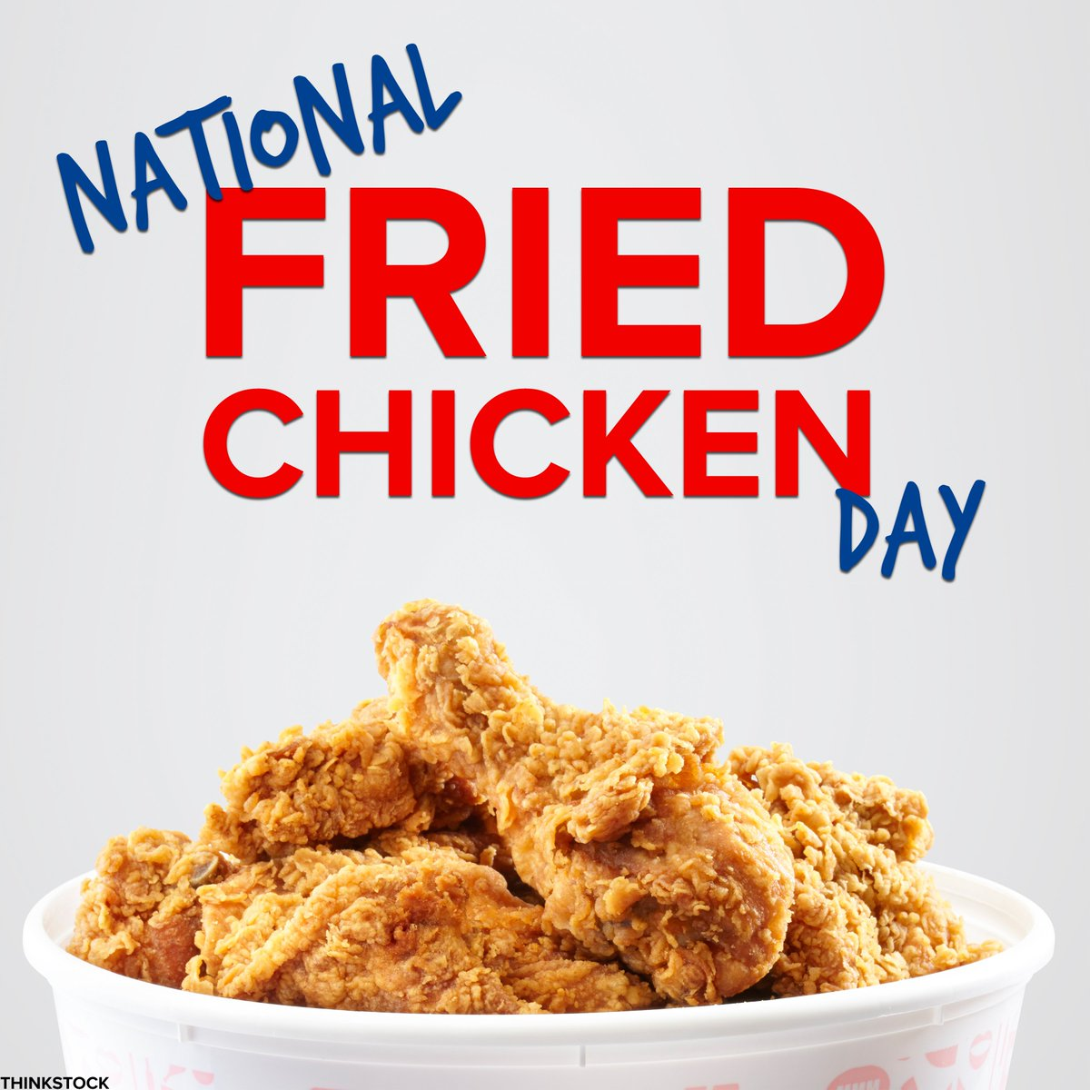 Happy #NationalFriedChickenDay! Who's celebrating for lunch or din and where at? 🍗👀