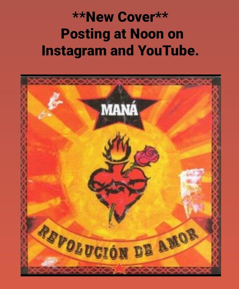 Check Out The New Drum Cover i did on #YouTube premiering at noon. Edward J Hernandez  (Txrams12) Ig: ehernandez930 #Mana #AyDoctor w/ images and video i took from the #RayandoElTour @manaoficial @alexelanimal @dwdrums I proudly endorse: #MiaMooreDrumStyx @CYMPAD_USA  @MEEaudiopic.twitter.com/PSGj7u1SWK