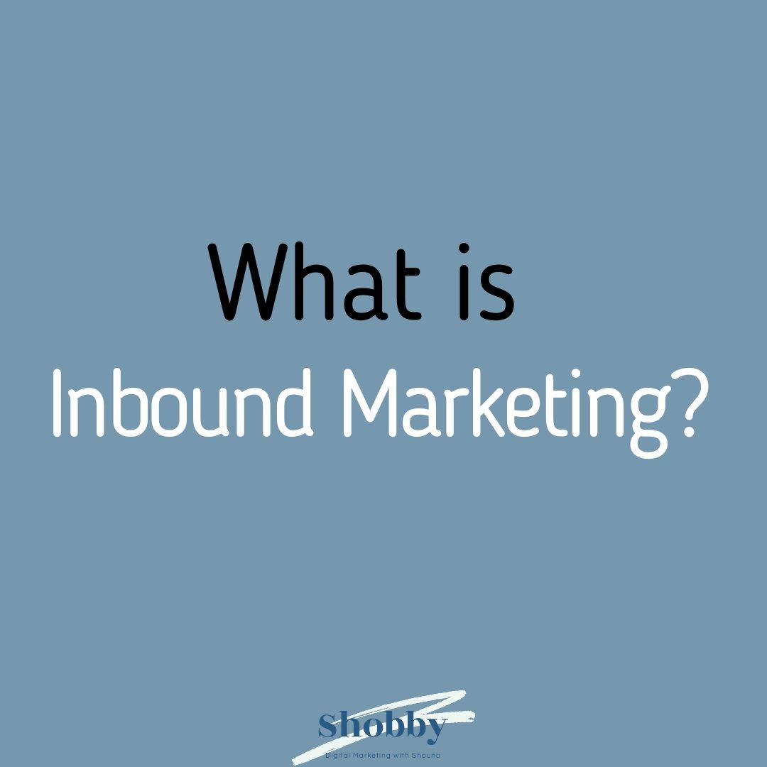 What is Inbound Marketing? #digitalmarketingtips #inboundmarketing #hubspotpic.twitter.com/wBEhVMeUWW