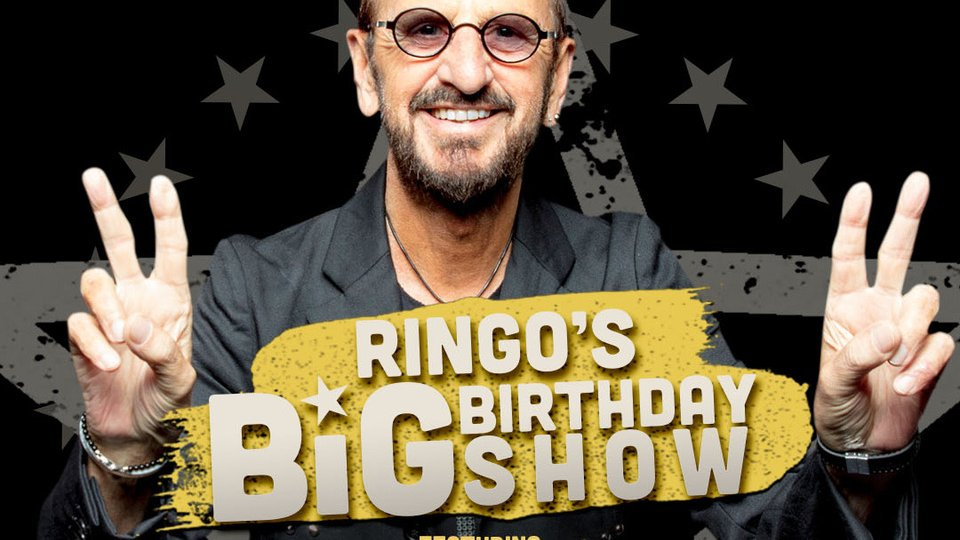 Set a reminder: https://t.co/Zw4wkHoVCG to celebrate Ringo's 80th birthday with The Big Birthday Show tomorrow - a benefit for @Blklivesmatter  @LynchFoundation, @MusiCares & @WaterAid. With @PaulMcCartney @JoeWalsh @BenHarper #DaveGrohl @SherylCrow & many more! https://t.co/tc6d7quSS2