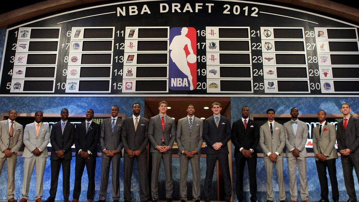 Draymond goes top four 😤 Kings do better second time around 👍 AD still No. 1 💪  @James_HamNBCS re-picks the 2012 NBA Draft https://t.co/3RbEFGe2ZR https://t.co/lOowd6JKOI
