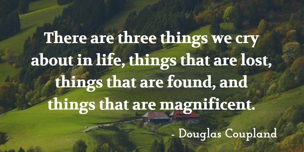 There are three things we cry about in life, things that are #lost, things that are #found, and things that are magnificent. - Douglas Coupland . . #motivationmonday #founditems #lostandfound #travel #lostitems #missing #missingitems #missingpersons #genealogy #travelphotographypic.twitter.com/SlGlcDtY9P