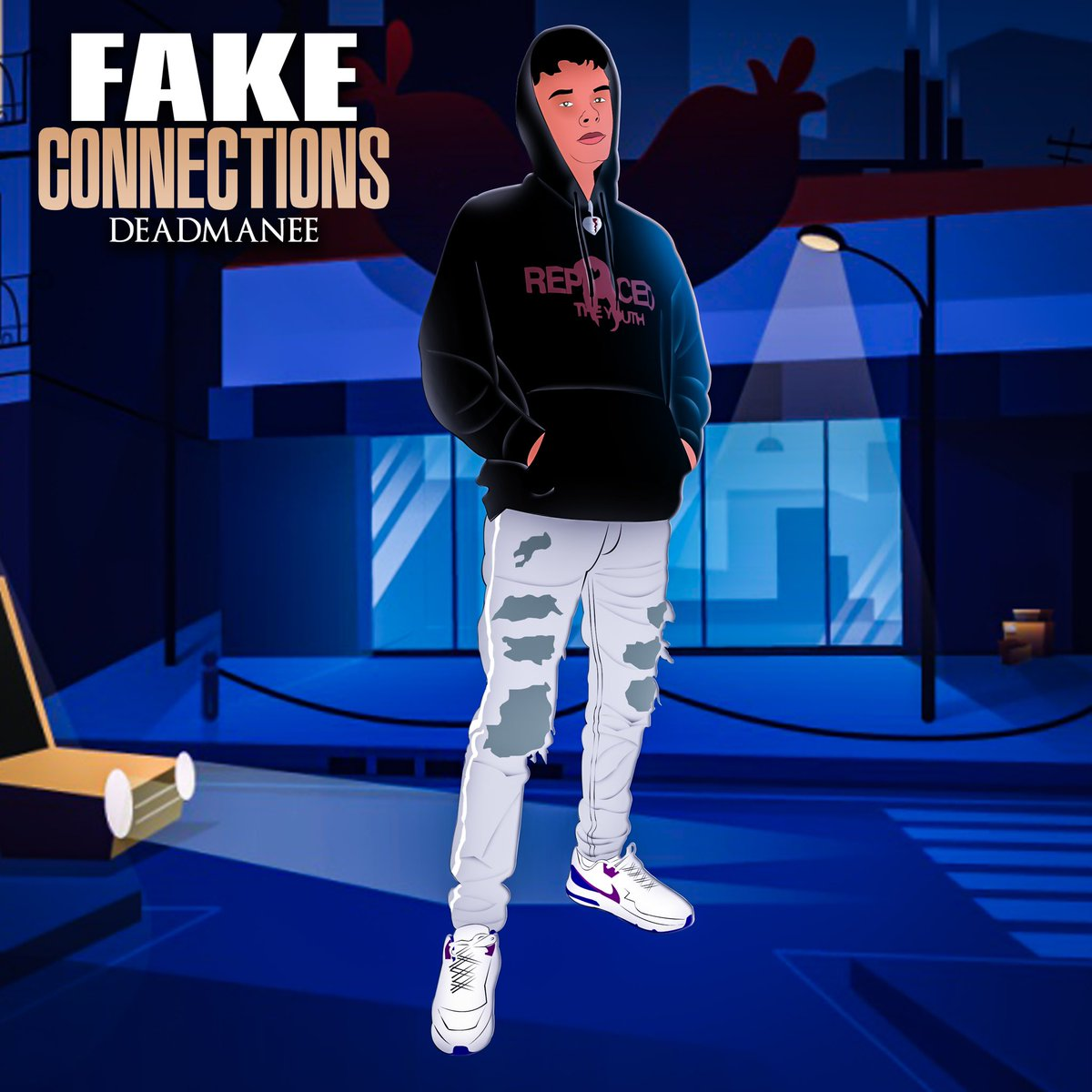 🚾 FAKE CONNECTIONS 🚾  #new #Song Dropping FRIDAY💨 ☠️ ☠️ #cover #covid19 #art #producer #collab #memes #trending #pop #vibes #party https://t.co/e6EtH3SHt5