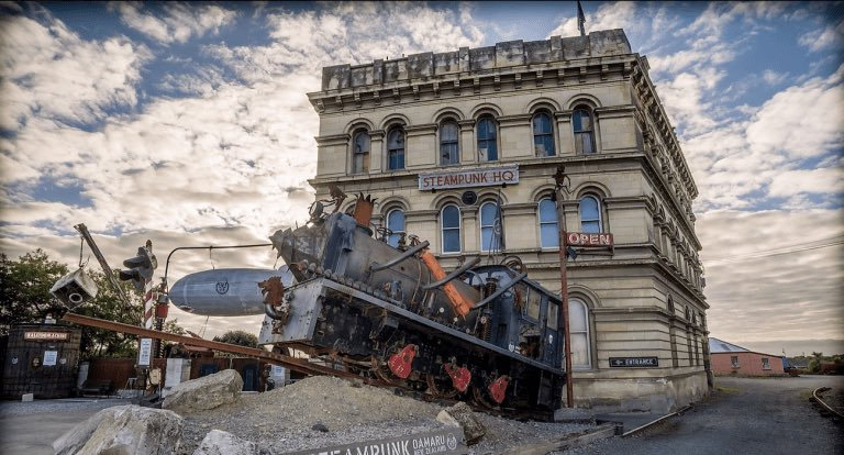Read all about The SteamPunk Subculture Of Oamaru, New Zealand: https://t.co/onlC00Bo8I #NewZealand #Oamaru #Steampunk #Travel