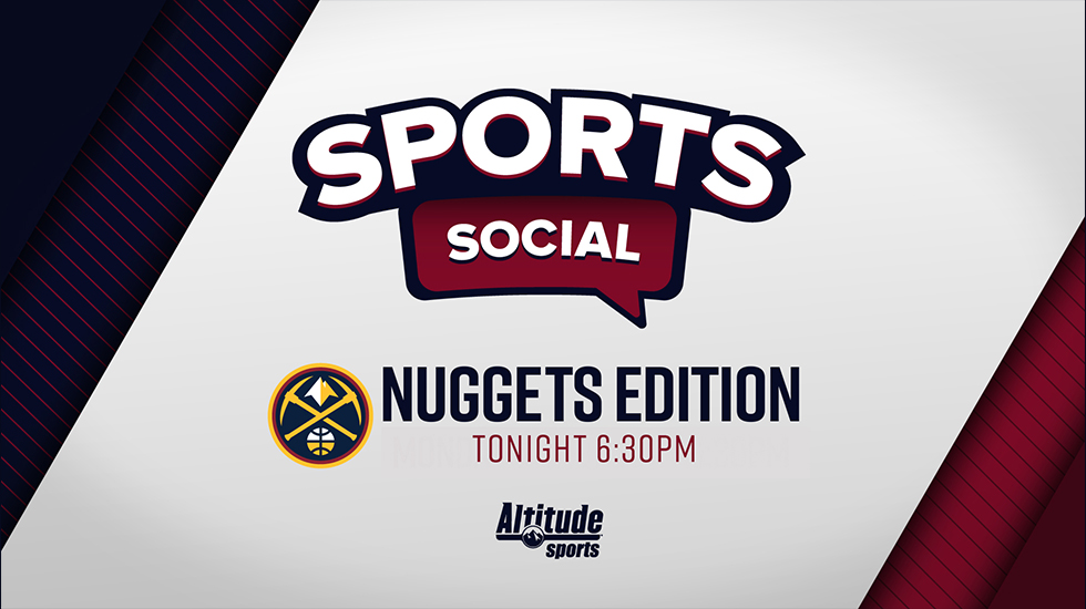Don't miss the premiere of Sports Social: @Nuggets Edition tonight at 6:30pm on Altitude!  @VicLombardi and @ChrisMarlowe will take a look at the roster that is heading to Orlando, the seeding games and the recently released scrimmage schedule!  #MileHighBasketball https://t.co/EGgxltVEqs