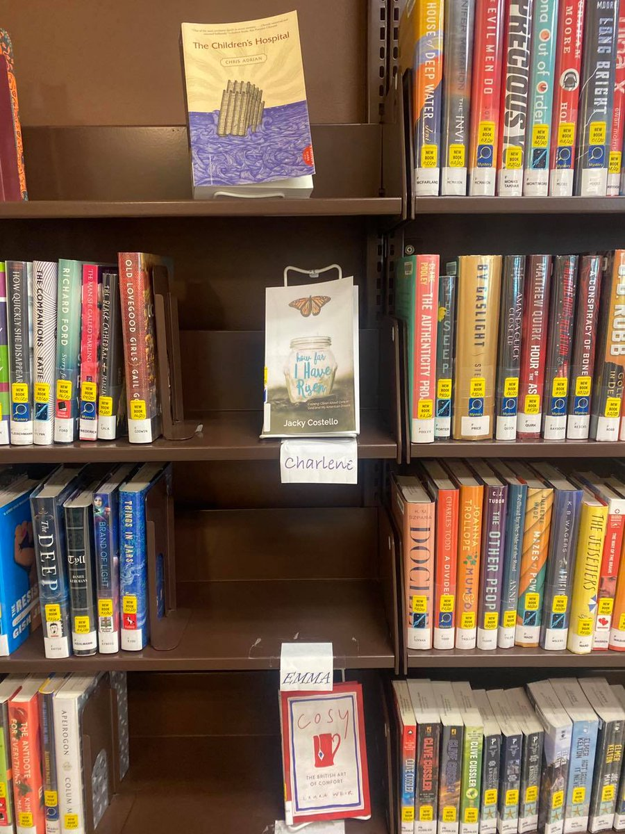 Thrilled to have my book displayed at the Jackson County Public Library in Sylva, NC! #librarytwitter #librarylife #books #BookBoost #booklovers #BookClub #BookWorm #memoirs #biography #author #Entrepreneur #Faith #God #hope #blessed #Thankful #love #success #life #health #fear https://t.co/Owh0toHGeS