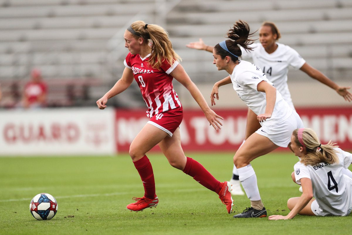 The Right Fit – Lockwood Brings What IU Women's Soccer Needs  📰: https://t.co/1jDvMs5411   #IUWS | #GoIU ⚪️🔴 https://t.co/iWz8rJ8XVZ