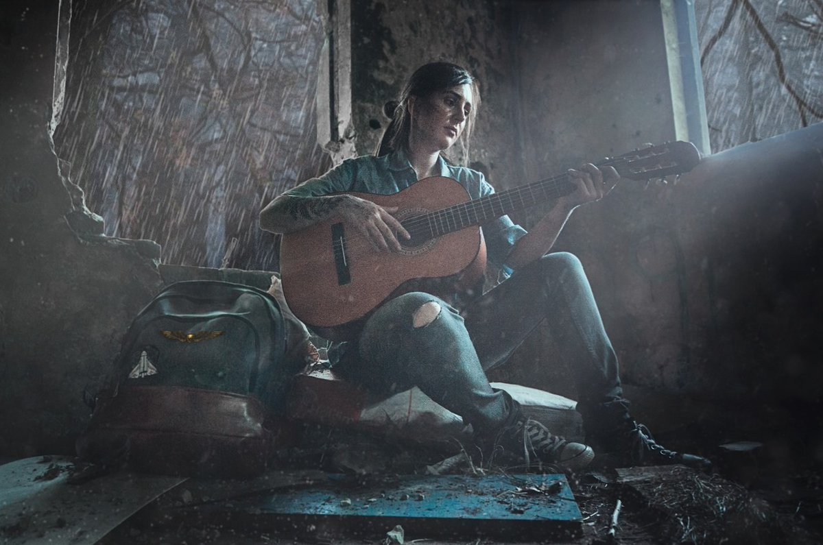Ellie cosplay from #TheLastofUsPartII by Marilena H.  Want a chance to have your own cosplay featured? Share it with us here: https://t.co/rkNPoi2lDv https://t.co/EM4QqO4Ghc