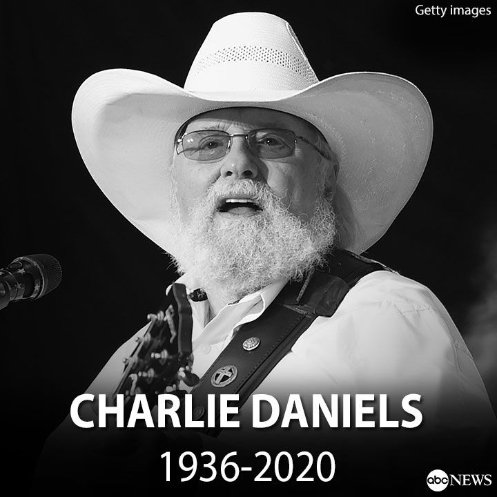NEW: Country Music Hall of Famer Charlie Daniels dies at 83. https://t.co/FOZqZA5Abm https://t.co/yEkKImt57M