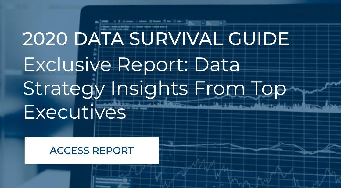 Quick insight from our Data Strategy Report: Business users and employees are more impatient for access to critical business data to make decisions & need access to data quicker. Data is being collaborated on more than before. Learn more: https://bit.ly/38Im5wd #BigData pic.twitter.com/PJAdazApB2