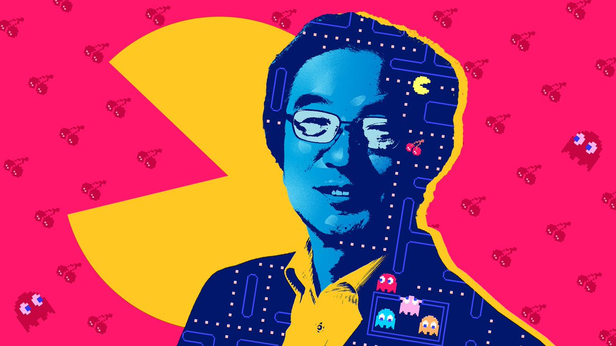 Pac-Man Creator Toru Iwatani reflects on 40 years of ghosts, arcades, and munching tiny dots in the first ever video game blockbuster. https://t.co/WxAdWx1e3G https://t.co/RuX2JIL8e2