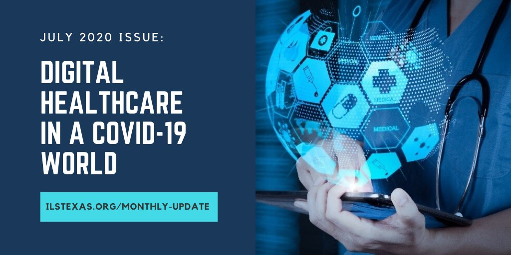 INSIDE JULY 2020 ISSUE: 1) Digital Healthcare in a COVID-19 World 2) Meet The New ILS Council Officers & Members 3) COVID-19 & Cross-Border Furloughs & RIFs Online CLE July 8 Read more: https://t.co/a8nxkUSfbB  #ilstexas #internationallaw #covid19 #digitalhealthcare #humanrights https://t.co/CYjRDVkONe