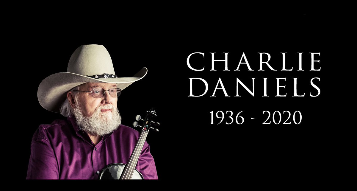 RIP Charlie Daniels. - TeamCDB/BW read about it here : bit.ly/RIP-_Charlie