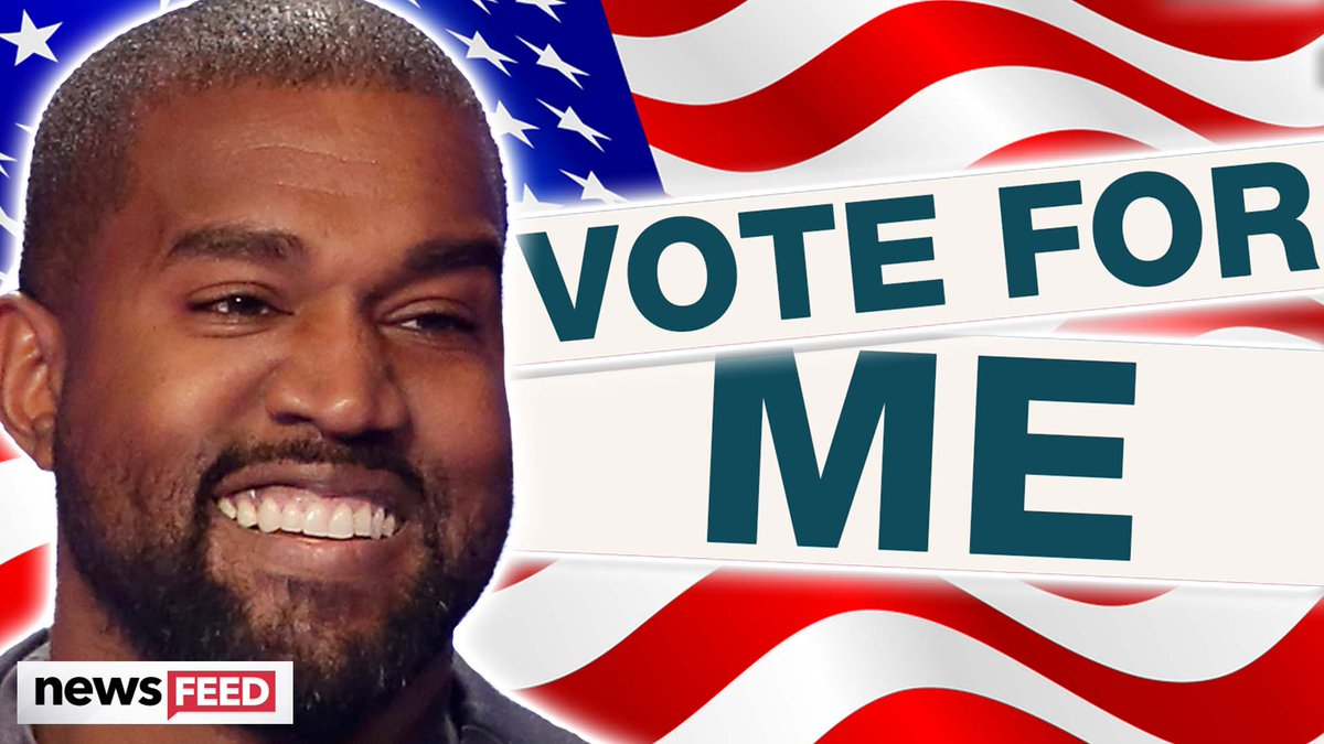 Do YOU think @kanyewest has a chance at winning the 2020 election?!
