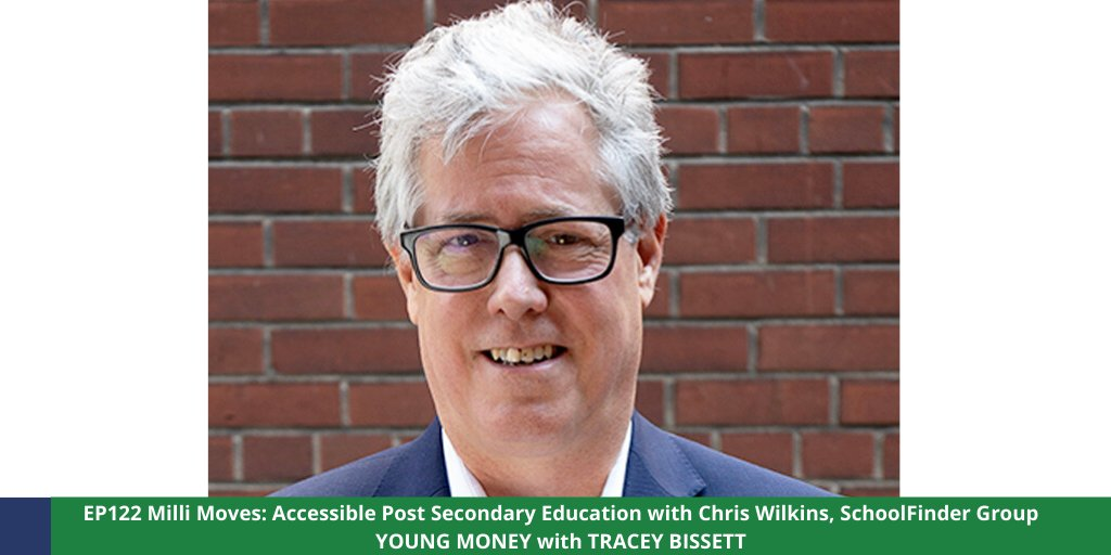 Chris Wilkins, CEO of @myschoolfinder, reveals the resources available to students & how longer life expectancies make it more likely that you will work in several careers. Check out EP122 here https://t.co/jQVcuQEKCf. #youngmoney #finlit #postsecondary #university #college https://t.co/Fe9oytmzlZ
