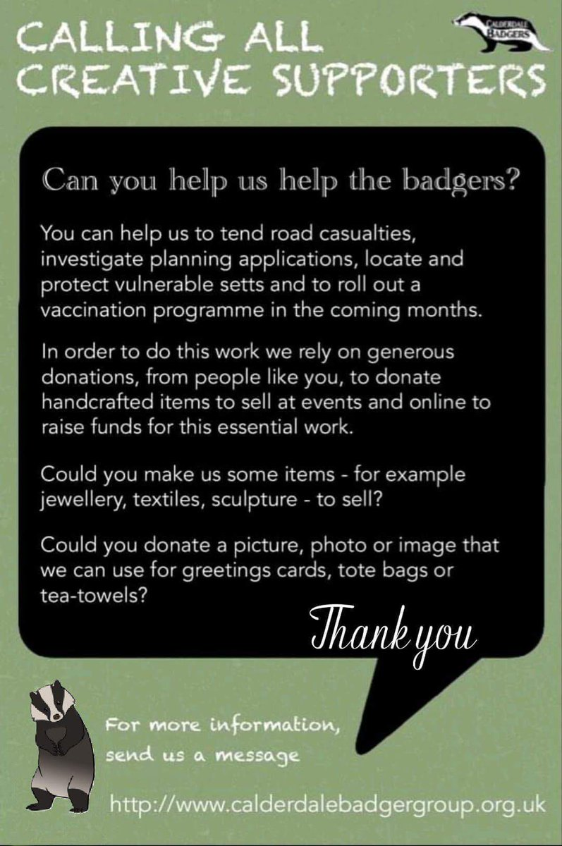Can you please help our #beautiful #badgers, click on our website link above, you can help in many ways, why not become a member and protect badgers https://t.co/tf9f9MLsgs