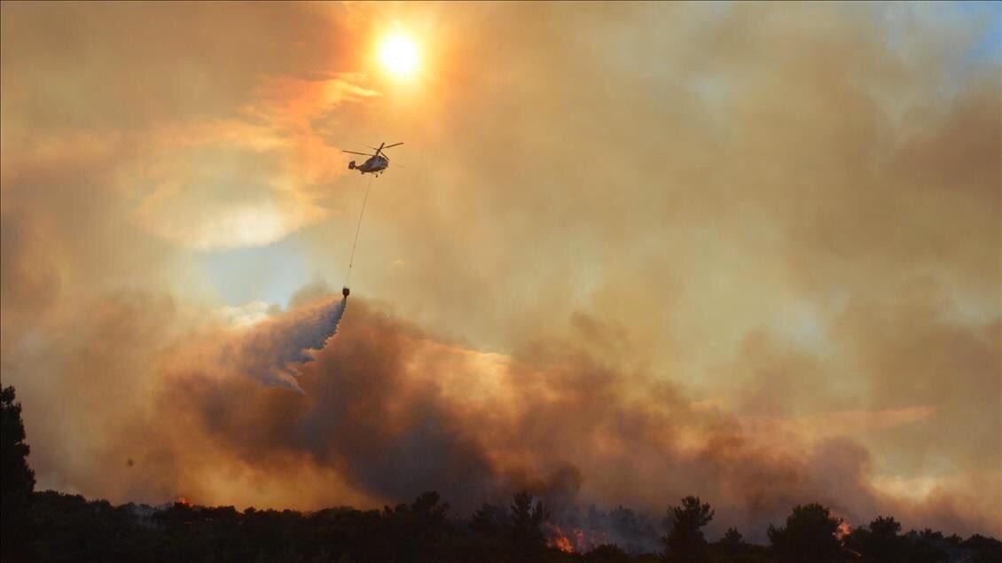 Çanakkale'nin tarihi #Gelibolu yarımadasında çıkan orman yangınında etkilenen tüm vatandaşlarımıza büyük geçmiş olsun. İnşallah en kısa sürede söndürülür.  Rabbim ülkemizi ve milletimizi tüm afetlerden korusun. https://t.co/czTPfXrYtv