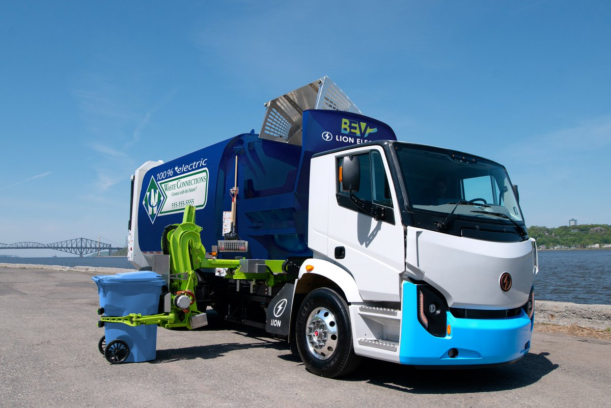 We are proud to announce the first sales of Lion8 zero emission refuse trucks with fully automated side load bodies to Waste Connections! Learn more: https://t.co/vmJ0wQMswD @BoivinEvolution https://t.co/hGRkTjucLc