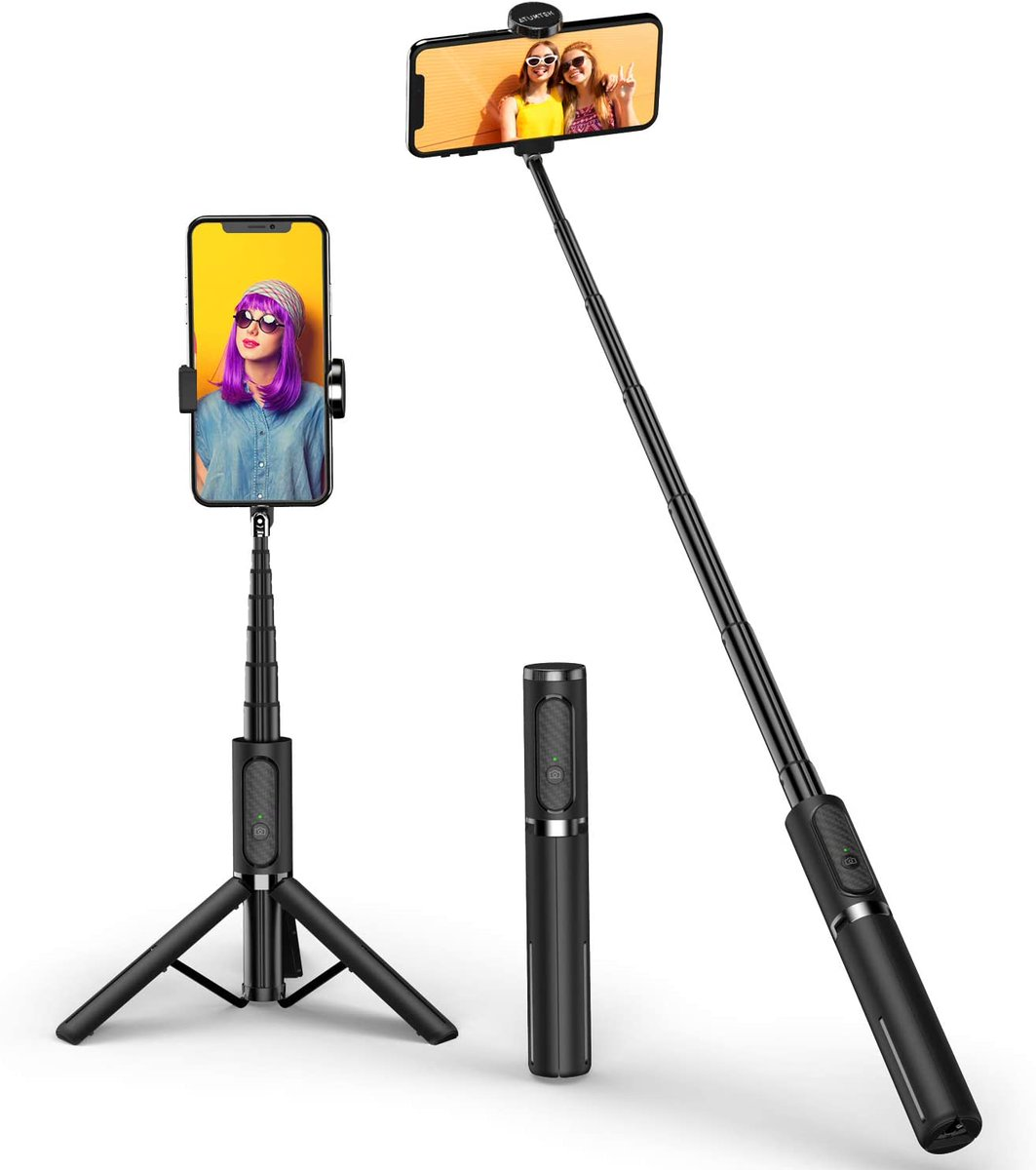 Bluetooth Selfie Stick/Tripod   -Phone holder can rotate up to 270° to support horizontal filming  -Bluetooth remote allows you to take photos as far away as 33-feet  As low as $18.19 when you use promo code ATUMTEKOFF at checkout  https://t.co/ZdC5475pXo  #ad #selfie #stick https://t.co/fg4p5Q4eRE