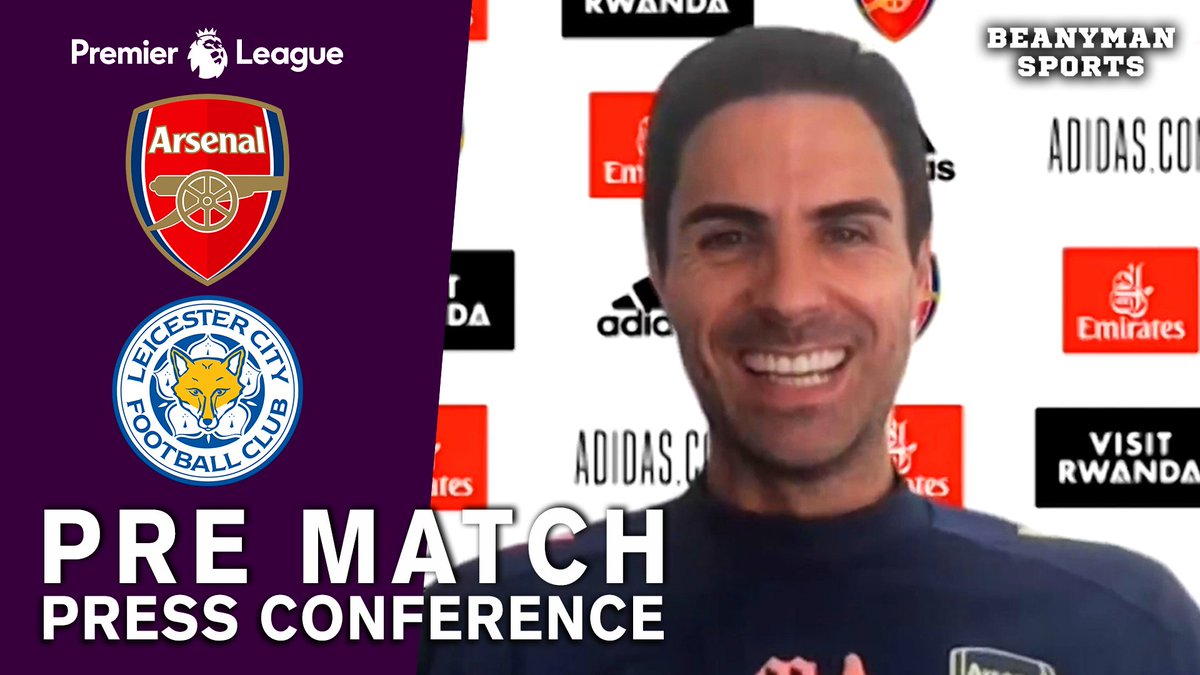 VIDEO - Mikel Arteta FULL Pre-Match Press Conference - Arsenal v Leicester - Premier League https://t.co/DI5wrXHa6i PLEASE SHARE! https://t.co/6CIXyF5dfk