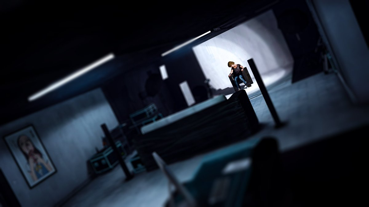 Max is still passed out and doesn't know what will happen. #LifeisStrange #dontnod #game #screenshot #maxcaulfield #chloeprice #virtualphotography #arcadiabay #squareenix @DONTNOD_Ent @DONTNOD_Michel @luc_baghadoust @LifeIsStrange @SquareEnix https://t.co/8cve3vS0uz