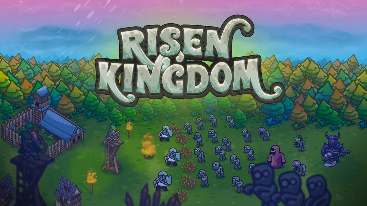 Risen Kingdom is a real-time strategy game with building and settlement management mechanics. The game is set in a medieval fantasy world years after a great Kingdom has been overrun by hordes of the undead. Now on the #GameMaker showcase: https://t.co/lFzgaC5WMs #GMShowcase https://t.co/9jZQmAhwL2