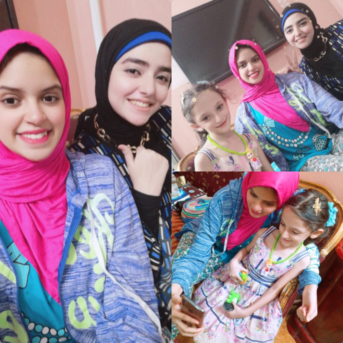 My princess❤️😍 amira there are no enough words can describe how the day so much beautiful to me and my Sis💗thank you about all thing you give it to me😍 It was a fun day😂 I hope it will repeat again.💜 #lovely #mylife  #smile #happy #cute #myprincess #friends #mysister #funday https://t.co/2RQbqdzfsM