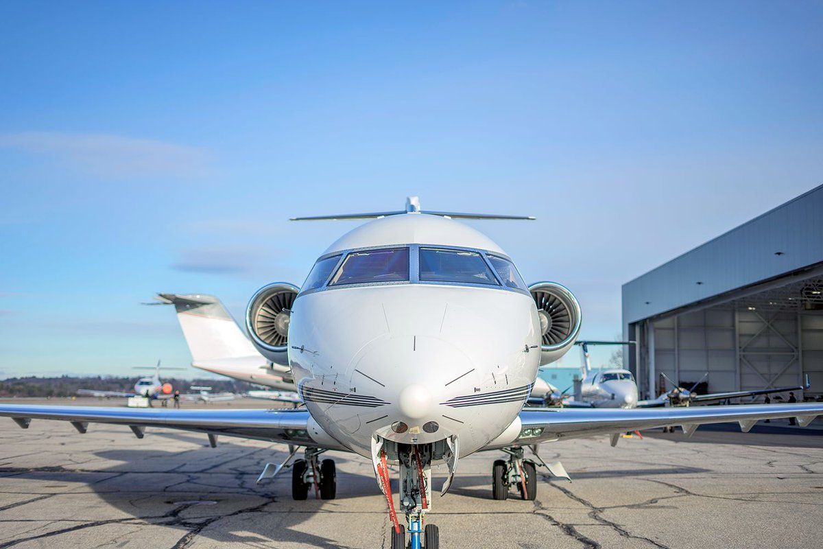 Our team is ready to perform your upcoming #AircraftMaintenance! We are now performing 96-month Phase Inspections on #Bombardier Challenger 600 series aircraft; 601, 604, 650. Contact us today #bizjets https://t.co/TkJdIrOyhy https://t.co/jDguMBHU9e