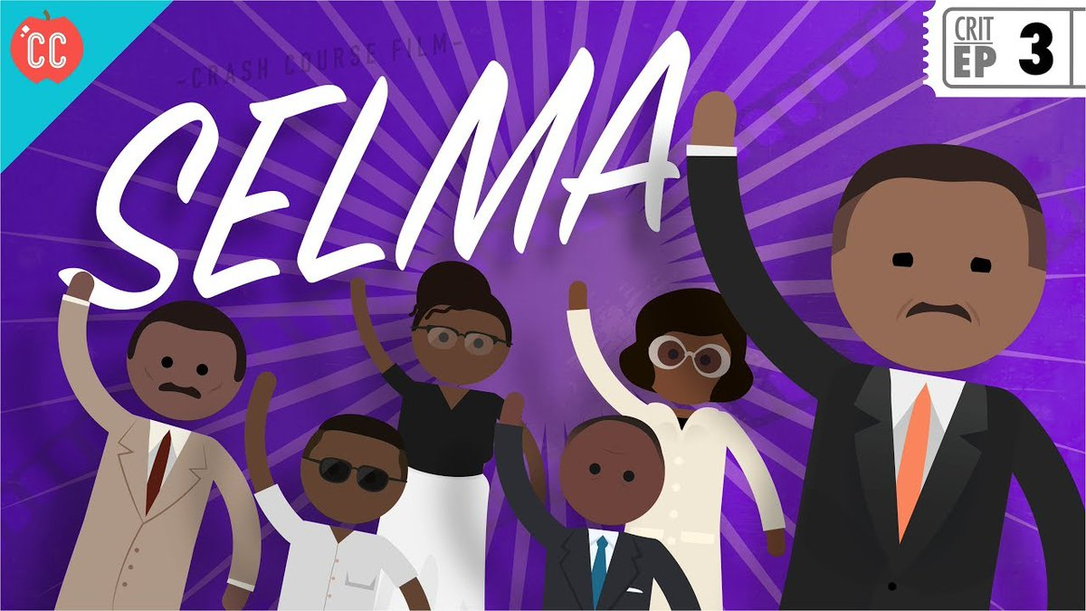 Crashcourse On Twitter Did You Know That Crash Course Has A Film Criticism Series Check Out This Episode Where We Take You Through The Film Selma Which Tells The Story Of One
