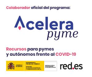 Somos colaboradores Acelera Pyme,  iniciativa del Ministerio de Transformación Digital, para ayudar a #empresas y #autónomos a superar el #COVID19 https://t.co/v7z8l25bSI