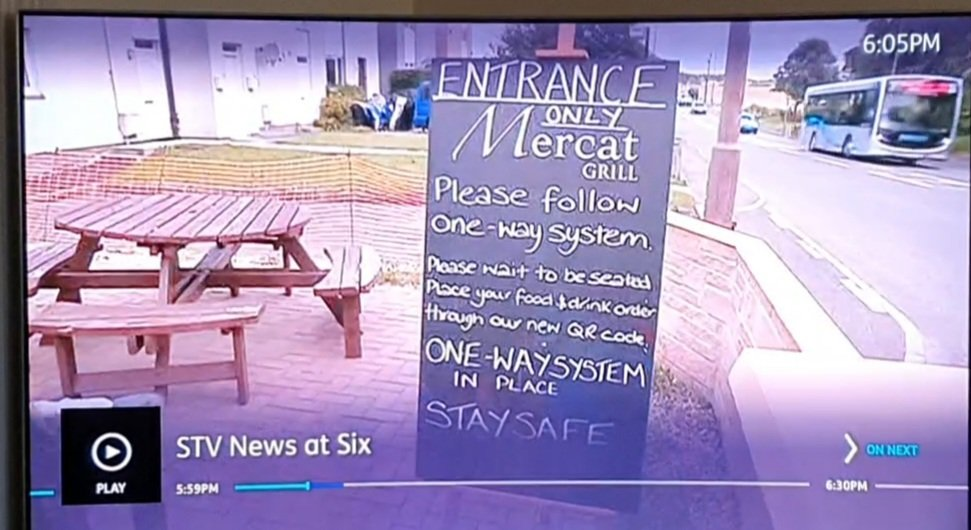 test Twitter Media - Great to see one of our buses on the 111 service to the Royal Infirmary sneak onto STV News tonight as they filmed at the The Mercat Bar And Grill in Whitecraig #photobomb https://t.co/9V6PlDG6ME