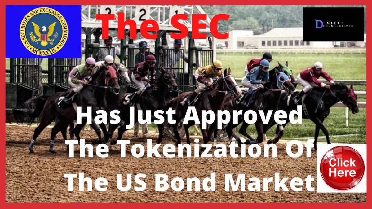 WHOA!!! Ripple/XRP- The SEC Just Approved The Tokenization Of The US Bond Market  https://t.co/yloZEA30r4  #XRP #BTC #ETH #BCH #LTC #xrpthestandard #ripple #ripplenews #DigitalPerspectives #Crypto #CryptonairesDocumentary https://t.co/mjAZt01ya3