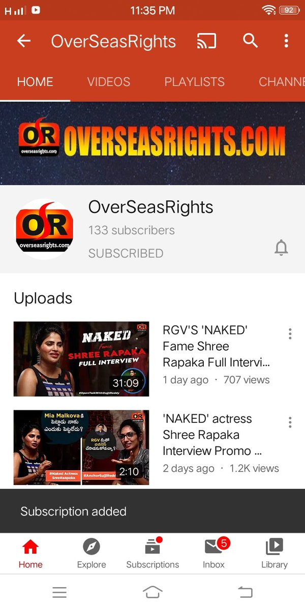@Overseasrights Done .  Subscribed on YouTube  @Overseasrights   #Overseasrights #OverseasrightsYT  #ContestAlert #Contest #Amazon   Join  @NIKKI20209  @sabanix  @sadhawk12 https://t.co/p5F7wBT9TH