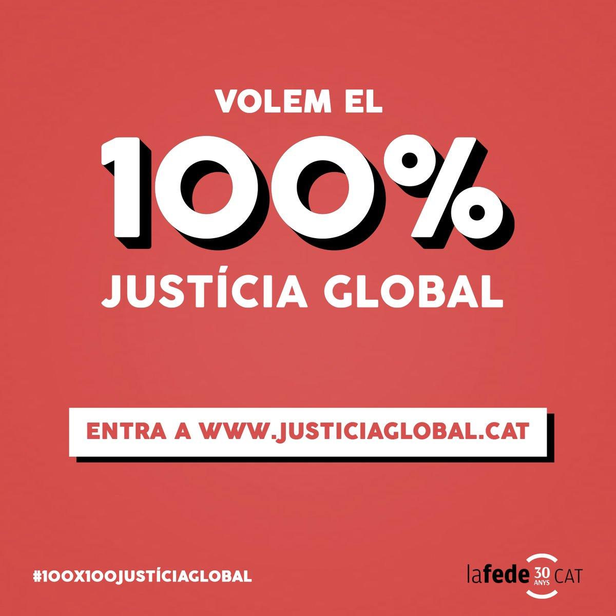 Només ens en sortirem de la #Covid19 amb una resposta de #JustíciaGlobal. Mentre hi hagi algun indret al món afectat, tota la humanitat està en perill. Necessitem #100x100JustíciaGlobal https://t.co/ef4LmPHUBv https://t.co/ncfBTCq6Vh