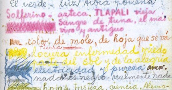 Frida Kahlo, born on this day in 1907, on the meanings of the colors brainpickings.org/2017/07/06/fri…